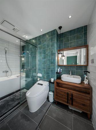 120平米三室一厅北欧风格卫生间装修图片大全