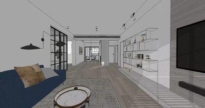 140平米三室两厅宜家风格客厅效果图
