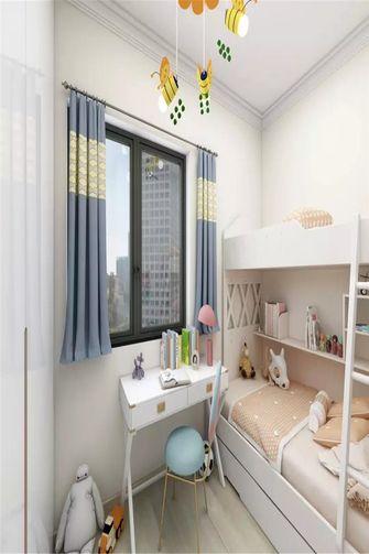 80平米三美式风格儿童房设计图