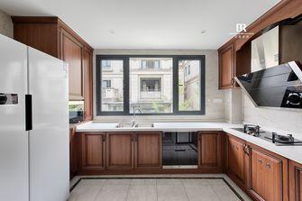 140平米别墅英伦风格厨房装修案例