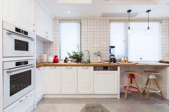 120平米四英伦风格厨房图片