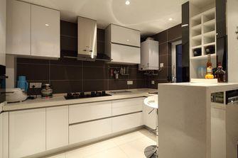 5-10万110平米三室两厅现代简约风格厨房图