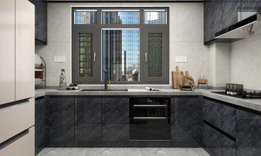 120平米三室两厅田园风格餐厅设计图