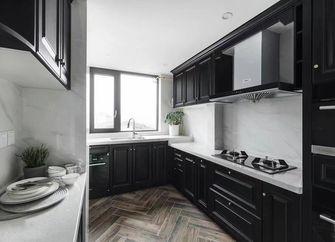 100平米三室两厅美式风格厨房图片