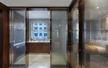 110平米三室两厅中式风格厨房橱柜效果图