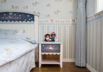 110平米三室五厅美式风格儿童房图片大全