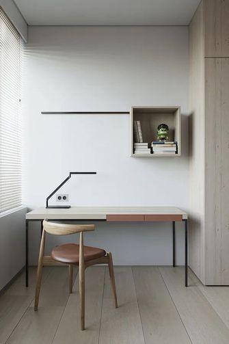 100平米现代简约风格书房图