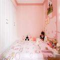 90平米三室两厅地中海风格儿童房图