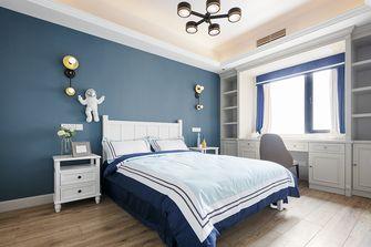 富裕型140平米四室四厅美式风格卧室装修案例