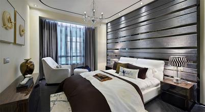 90平米一室两厅中式风格卧室设计图