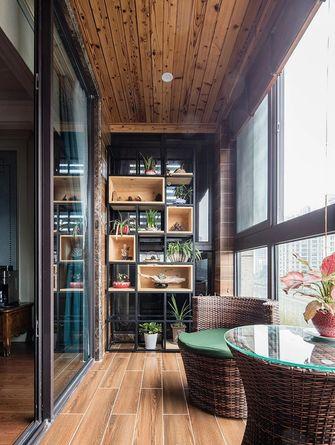 120平米三室两厅新古典风格阳台效果图
