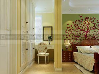 140平米三室两厅地中海风格衣帽间装修效果图