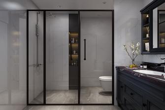 130平米四室一厅现代简约风格卫生间设计图
