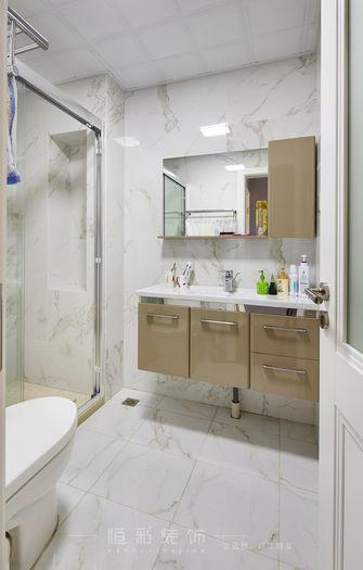 豪华型130平米三室两厅新古典风格卫生间装修效果图