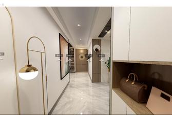 140平米三室两厅混搭风格走廊欣赏图