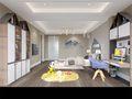 140平米别墅欧式风格儿童房效果图