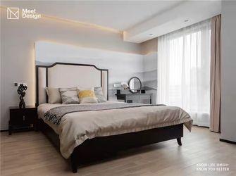 130平米三中式风格卧室图片
