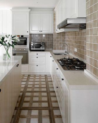 豪华型140平米三室四厅美式风格厨房图片大全