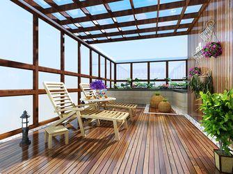 经济型80平米三室两厅东南亚风格阳台装修效果图