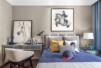 90平米一室一厅混搭风格卧室装修效果图