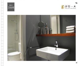 富裕型100平米公寓英伦风格卫生间欣赏图