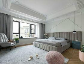 140平米四室兩廳現代簡約風格臥室裝修圖片大全