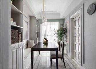 100平米三室两厅美式风格书房欣赏图
