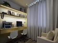110平米三欧式风格书房装修效果图