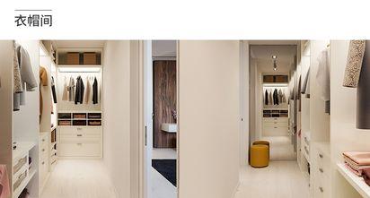 90平米现代简约风格衣帽间鞋柜装修图片大全