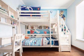 140平米三室一厅美式风格儿童房图片大全