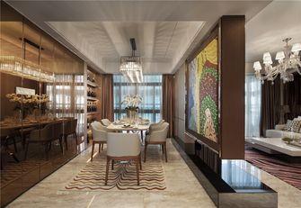 80平米三室两厅混搭风格餐厅效果图