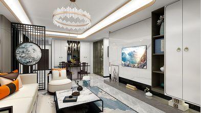 140平米四室三厅中式风格客厅图