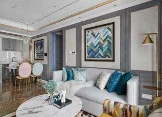 100平米三室一厅新古典风格客厅设计图