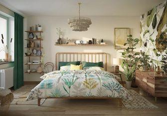 50平米公寓宜家风格卧室图片