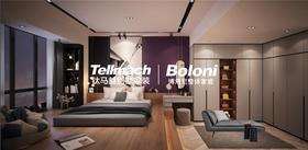 130平米四室两厅现代简约风格卧室装修图片大全