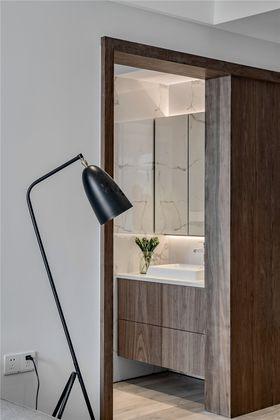 80平米三室一厅现代简约风格卫生间欣赏图