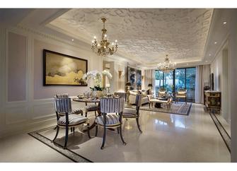 140平米四室四厅法式风格餐厅装修图片大全