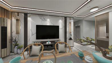 120平米中式风格客厅效果图