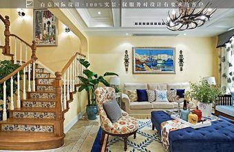 20万以上140平米别墅美式风格楼梯装修案例