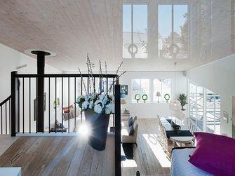20万以上140平米四室两厅北欧风格楼梯图