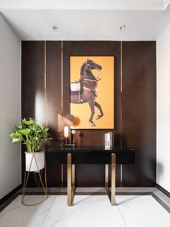 140平米四室两厅美式风格玄关图片