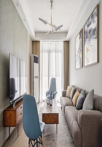 110平米混搭风格客厅装修效果图