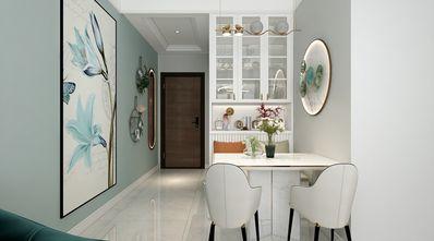 70平米三室两厅现代简约风格餐厅装修图片大全
