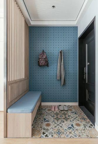 100平米三现代简约风格玄关图片
