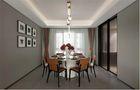 140平米别墅宜家风格餐厅装修案例