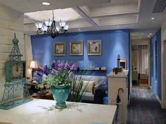 50平米一室两厅地中海风格餐厅装修图片大全