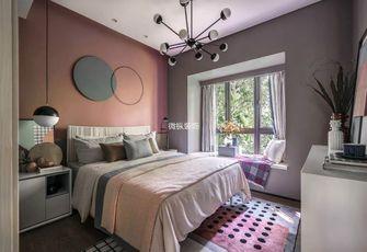 110平米三室一厅英伦风格儿童房装修案例