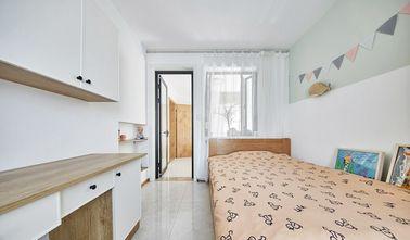 70平米三室两厅日式风格儿童房设计图