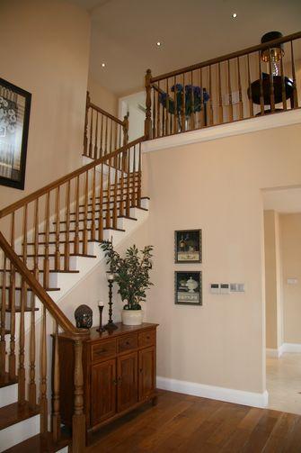 10-15万140平米复式美式风格楼梯装修效果图