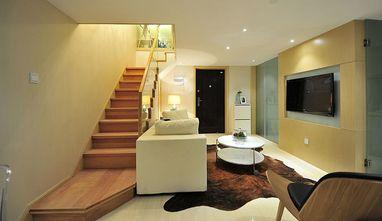 富裕型100平米现代简约风格楼梯装修图片大全